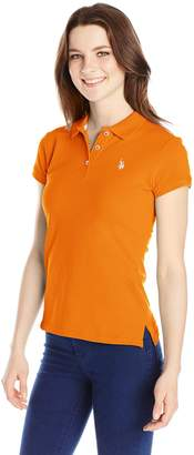 U.S. Polo Assn. U.S. Polo Shirt Assn. Juniors Solid Polo Shirt with Small Pony