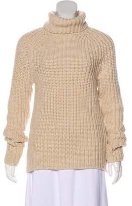 Tibi Long Sleeve Turtleneck Sweater
