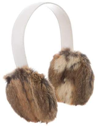Gucci Leather Fur Earmuffs