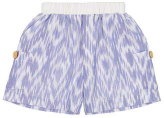 Masala Baby Big Boys Cargo Shorts Ikat Diamond, 6-12M Women Swimsuit
