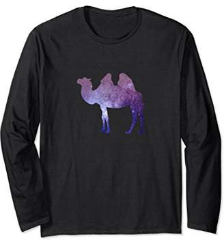 Cosmic Camel Trippy Space Astronomy Travel Animal Shirt