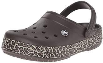 Crocs Unisex Crocband Animal Print Clog Mule