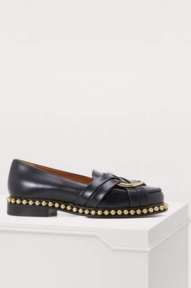 Chloé Studded loafers