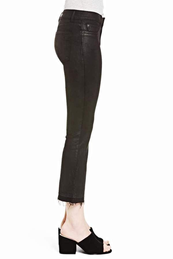 DL1961 Coated Crop Jeans