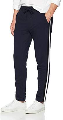Calvin Klein Jeans Men's Athletic Collage Contrast Rib Tipping Sweatpants