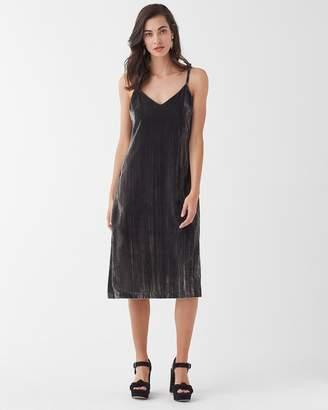 Splendid Moonstone Velvet Dress