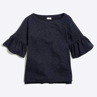 J.Crew Factory Girls' bell-sleeve T-shirt