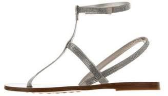 Pedro Garcia Embellished Ilania Sandals w/ Tags