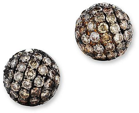 Bloomingdale'sBrown Diamond Stud Earrings in 14K Yellow Gold, .85 ct. t.w.
