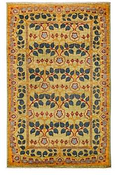 Morris Collection Oriental Rug, 4'10 x 8'4