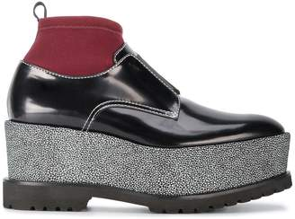 Givenchy Black Ursa 85 flatform boots