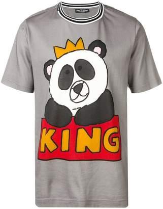 Dolce & Gabbana Panda King T-shirt