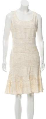 Akris Punto Silk Tweed Dress