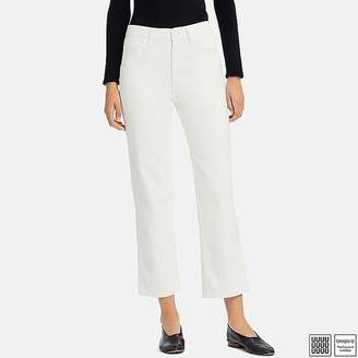 Uniqlo Women's U High-rise Straight Ankle Jeans