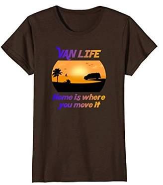 Möve Van Life Home Is Where You It Vandweller Freedom Shirt