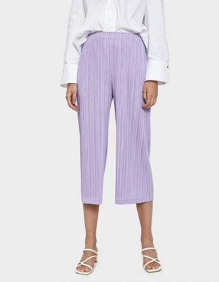 Pleats Please Issey Miyake Thicker Bottoms in Purple