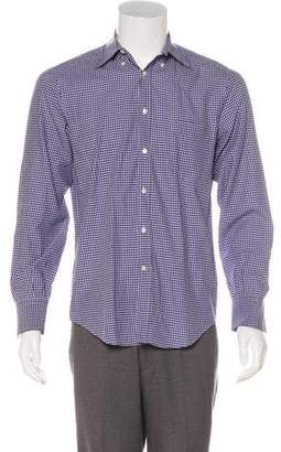 Brunello Cucinelli Plaid Woven Shirt
