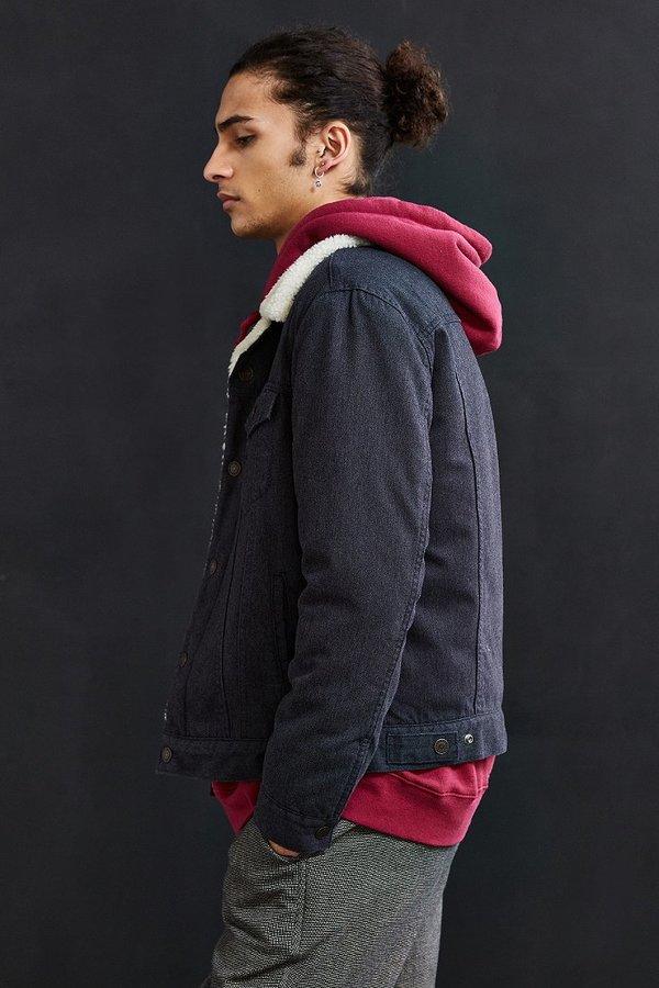 Levi's Levi's Flannel Sherpa Trucker Jacket 4