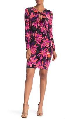 Trina Turk Electric Cutout Jersey Dress