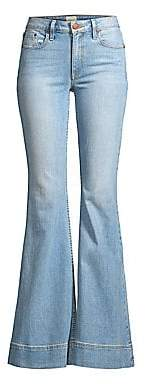 Alice + Olivia Jeans Jeans Women's Beautiful Mid-Rise Bell Bottom Jeans