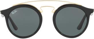 Ray-Ban Rb4256 46 Black Square Sunglasses