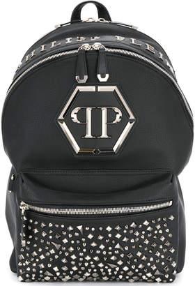 Philipp Plein Metal Diamond Backpack