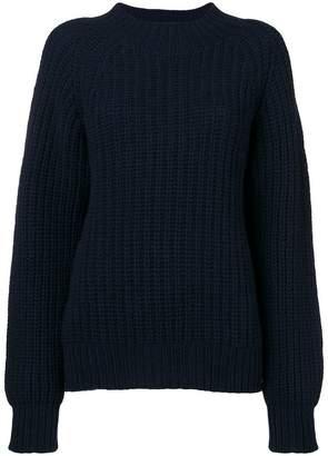 YMC ribbed knit jumper