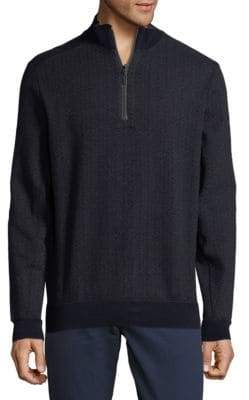 Bugatchi Textured Cotton Sweater