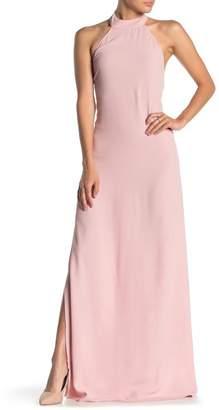 Flynn Skye Tyra Halter Maxi Dress