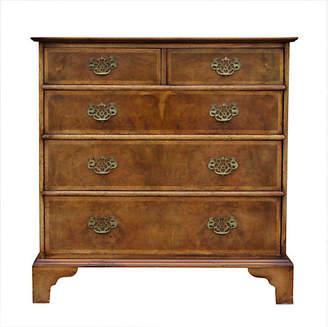 One Kings Lane Vintage English Burl Walnut Dresser - de-cor
