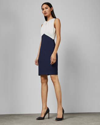 Ted Baker ZAMELID Fitted sleeveless dress