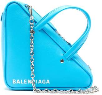 Balenciaga Triangle Duffle S Bag - Womens - Blue White