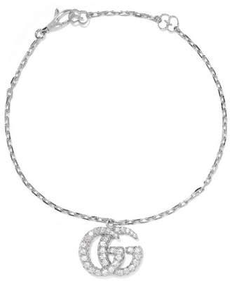 Gucci 18-karat White Gold Diamond Bracelet - medium