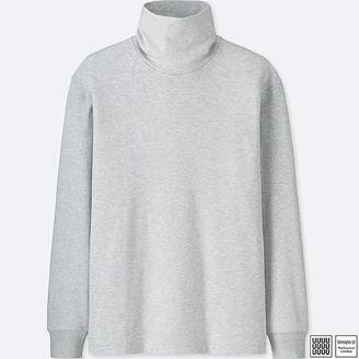 Uniqlo Men's U Double Face Turtleneck Long-sleeve T-Shirt