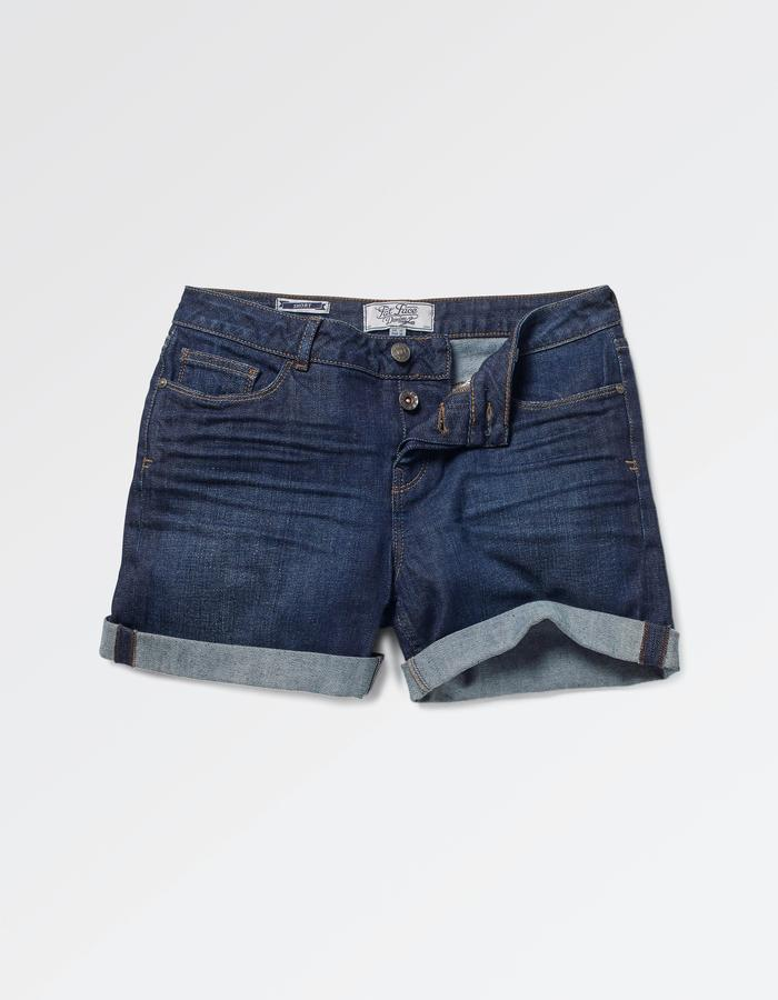 Denim Shorts Pockets Showing - ShopStyle Australia