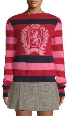 Tommy Hilfiger Tommy Striped Wool Crest Sweater
