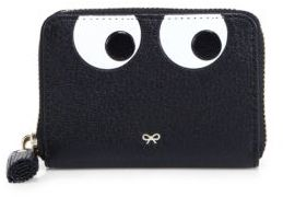 Anya HindmarchAnya Hindmarch Eyes Small Leather Zip-Around Wallet