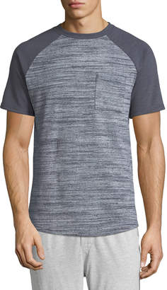 Sovereign Code Men's Pines Heathered Raglan-Sleeve Tee