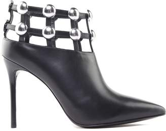 Alexander Wang Tina Studded Leather Ankle Boots