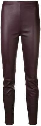 Lorena Antoniazzi skinny leather trousers