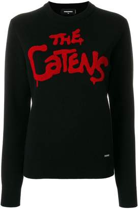 DSQUARED2 The Catens knitted jumper