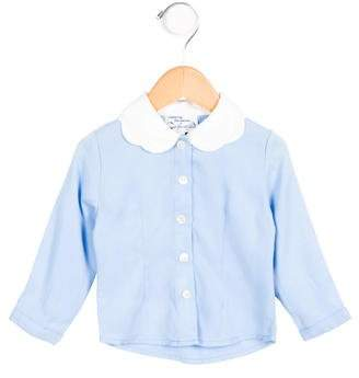 Opening Ceremony Girls' Collared Button-Up Top