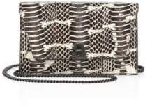 Akris Anouk Snakeskin Envelope Crossbody Bag