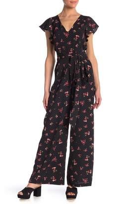 re:named apparel Flowy Floral Jumpsuit