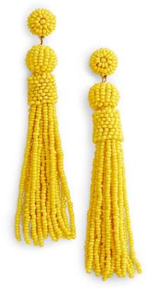 BaubleBar Mariachi Beaded Tassel Earrings