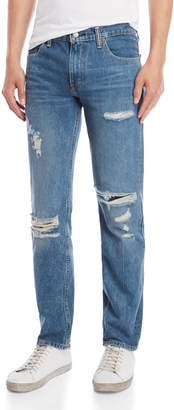 Levi's 511 Distressed Slim Fit Jeans