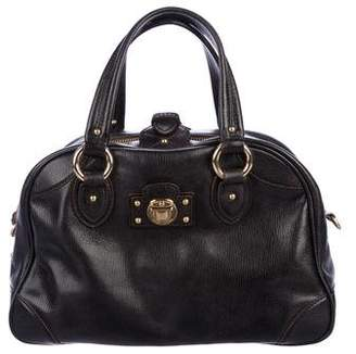 Marc Jacobs Leather Dome Satchel