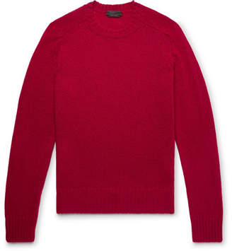 Prada Shetland Virgin Wool Sweater