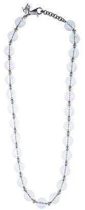 Dolce & Gabbana Lucite Bead Strand Necklace