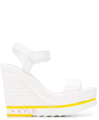 KENDALL + KYLIE Kendall+Kylie touch strap wedge sandals